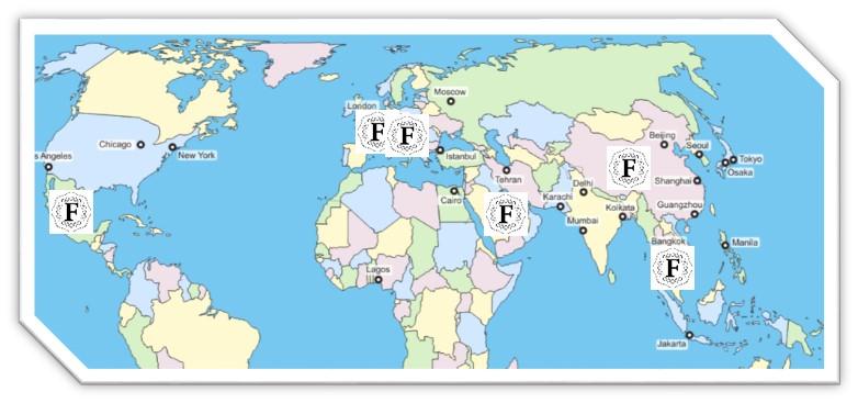 Les coffrets gastronomiques FOOD de Culture dans le monde: France, Italie, Espagne, Royaume Uni, Allemagne, Suisse, Mexique, Arabie Saoudite, Malaisie et Chine