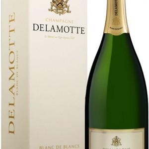Bouteille Champagne Delamotte Blanc de Blanc