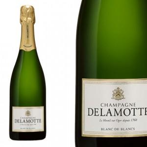 Champagne Delamotte blanc de blanc sacre de Charles X
